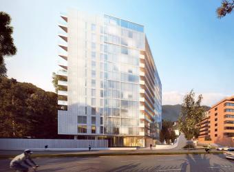 El sello de Richard Meier, en proyecto de vivienda en Bogotá